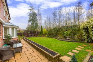 Landscaped, South Facing Rear Garden