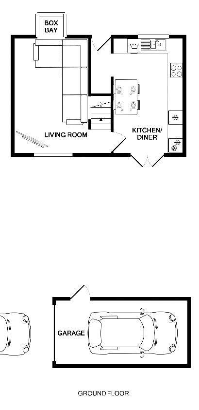 Ground Floor Plan & Garage