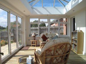 Bifold doors & Lantern Roof