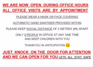 NOTICE TO ALL CLIENTS