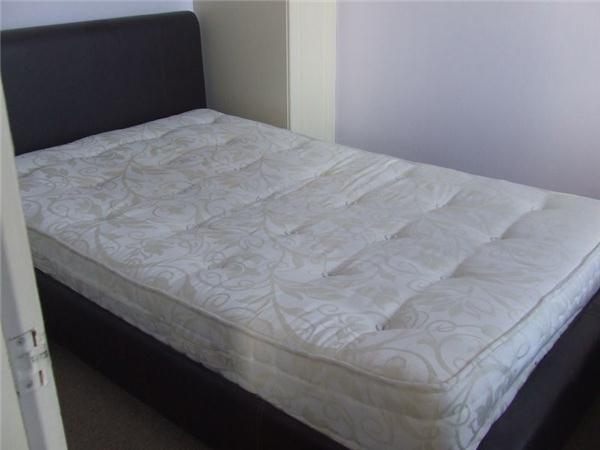 double bed supplied for bedroom