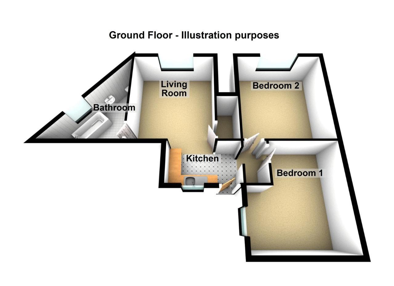 1 Newtown Road Floorplan