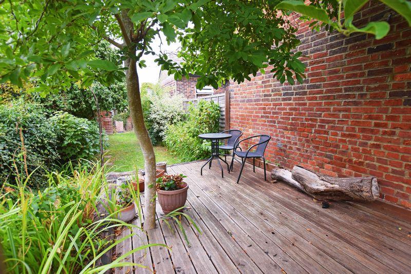 Rear Garden Decked Area