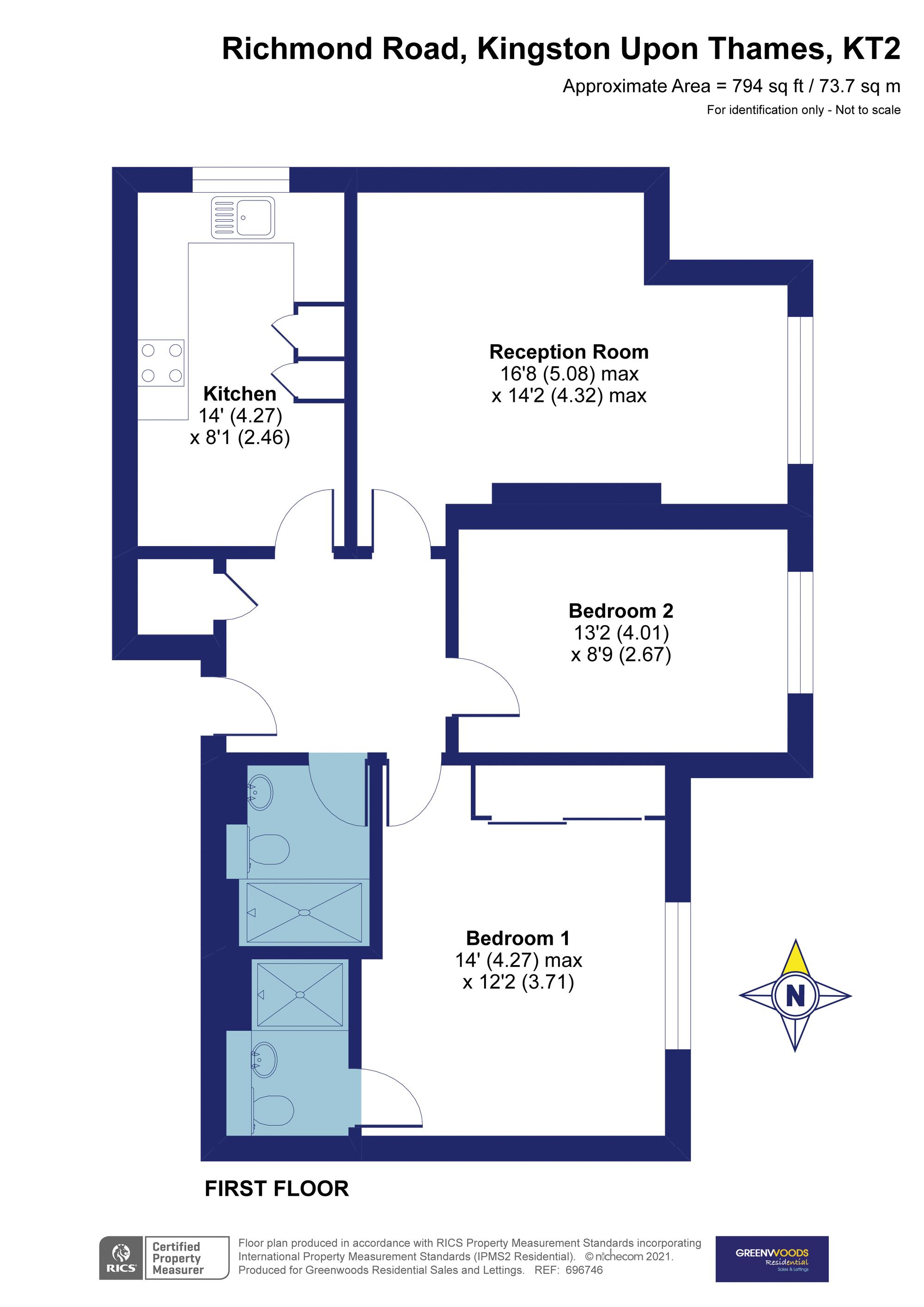 2d Floorplan Walton House