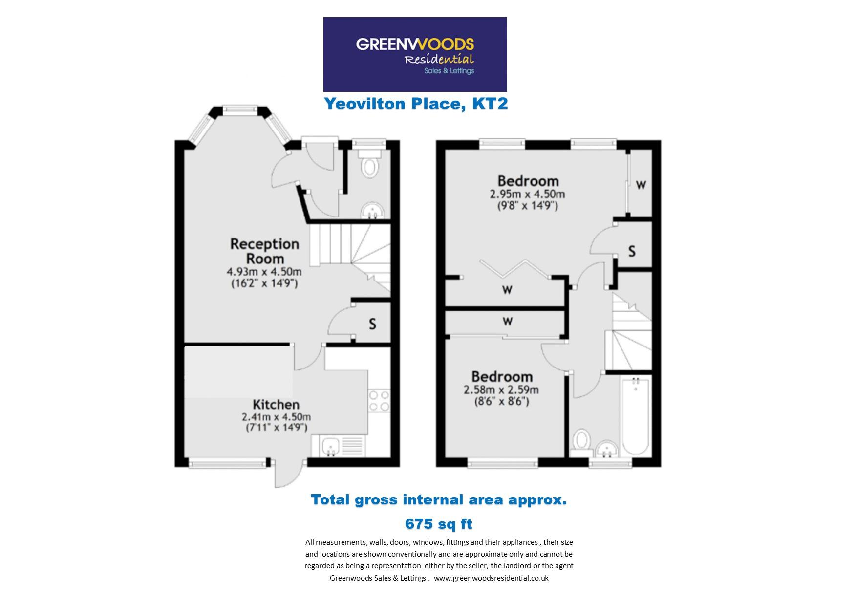 2D Floorplan Yeovilton Place