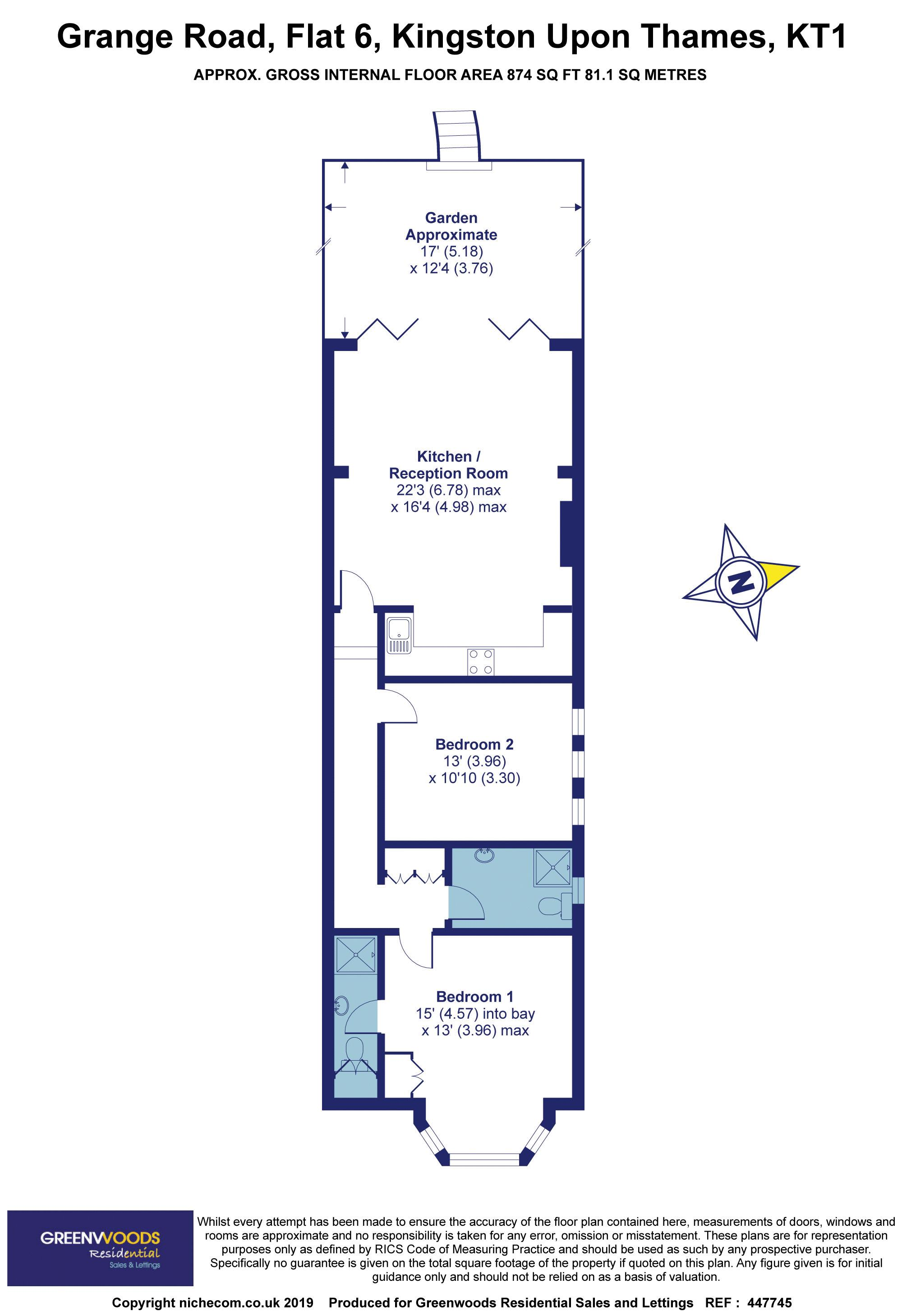 2D Floorplan Grange Road