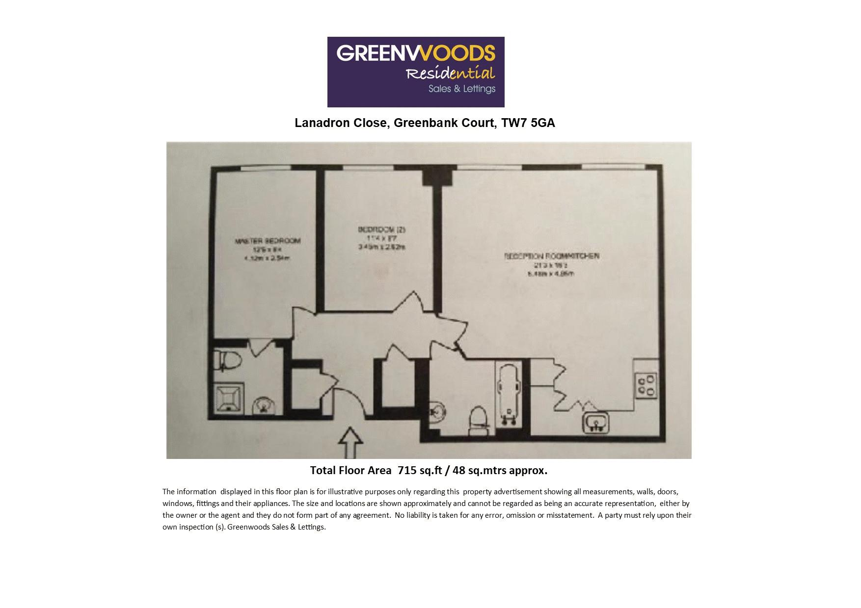 2 D Floorplan Greenbank - GRP