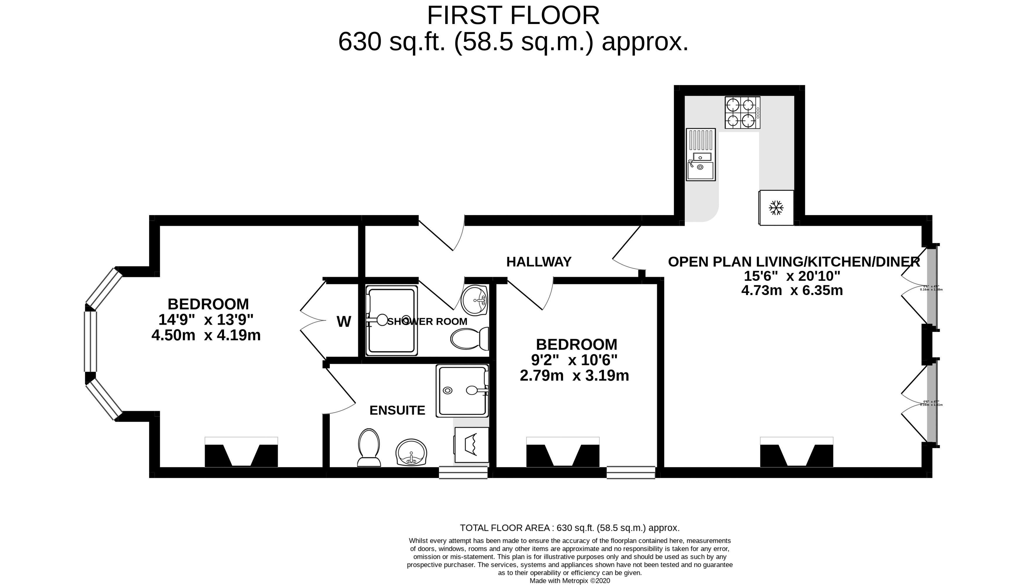 2D Floorplan Grange Road
