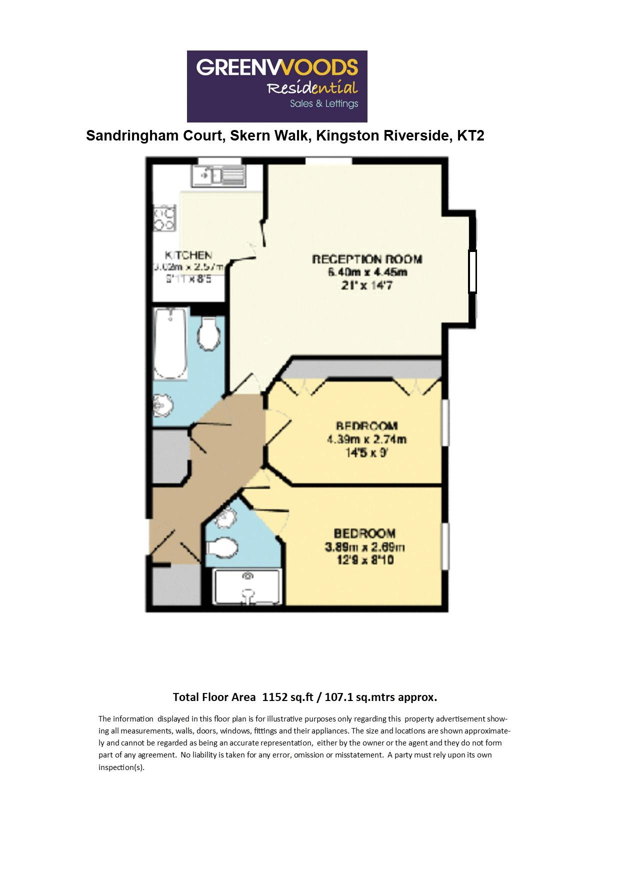 2D floorplan Sandringham Court
