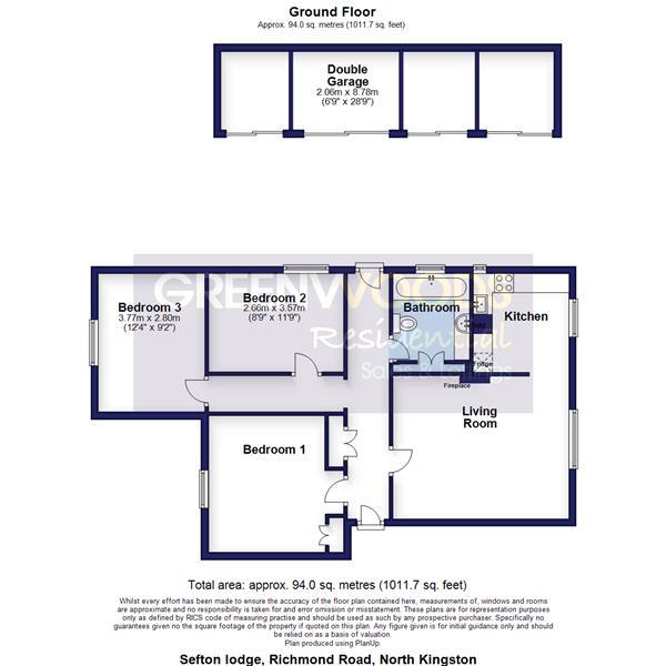 2D Floorplan Sefton Lodge
