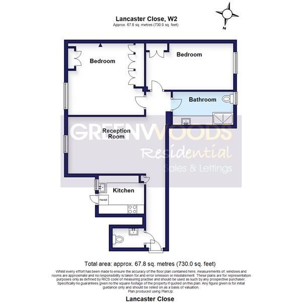 2D Floorplan Greenwoods