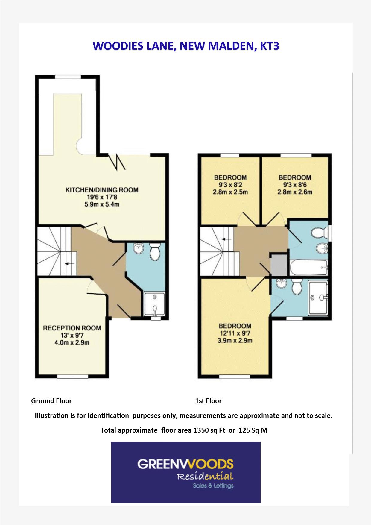2D Floor Plan Woodies Lane