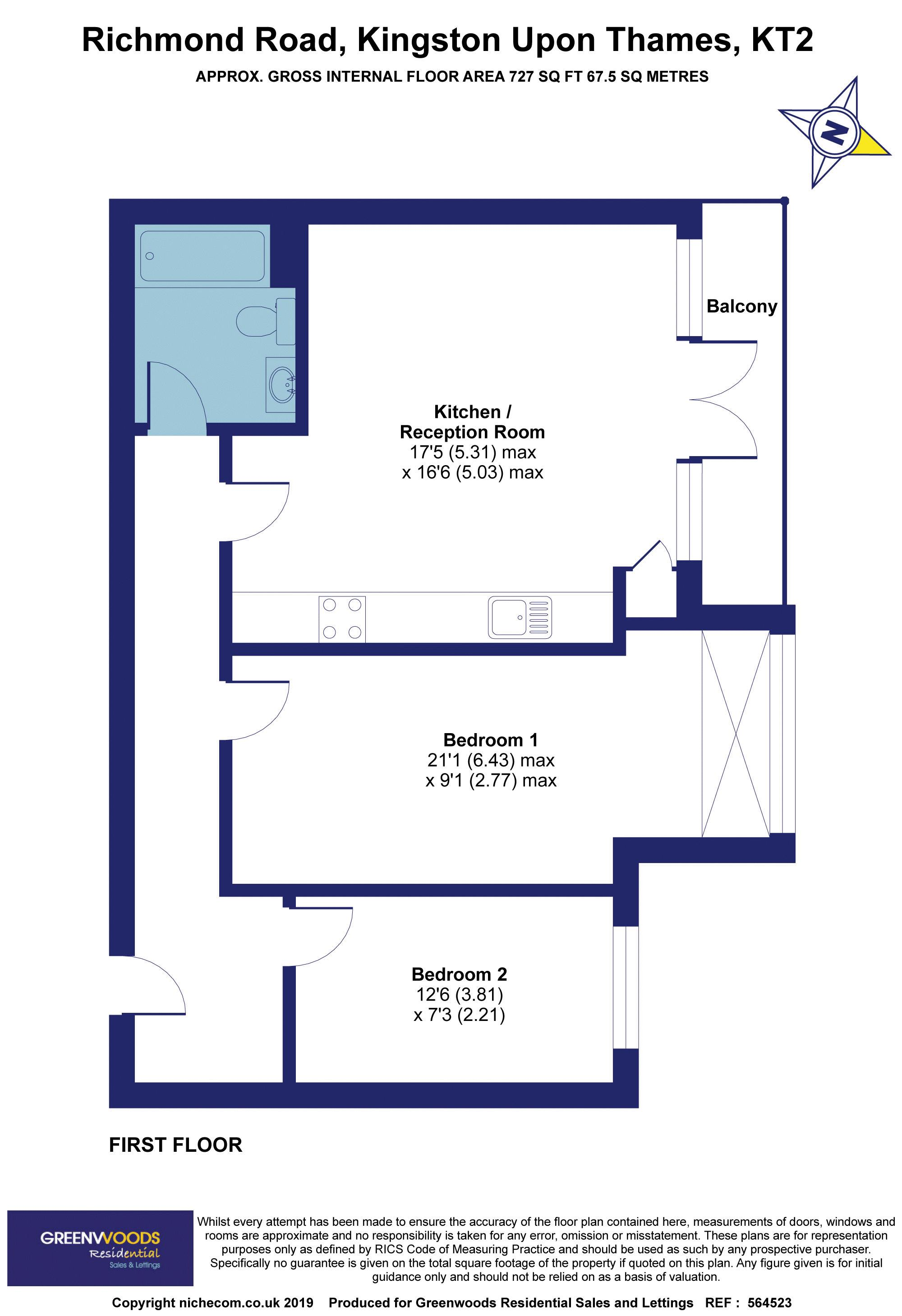 2D Floorplan Greenwoods