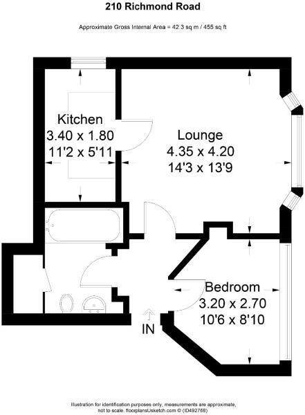 210 Richmond Floor plan