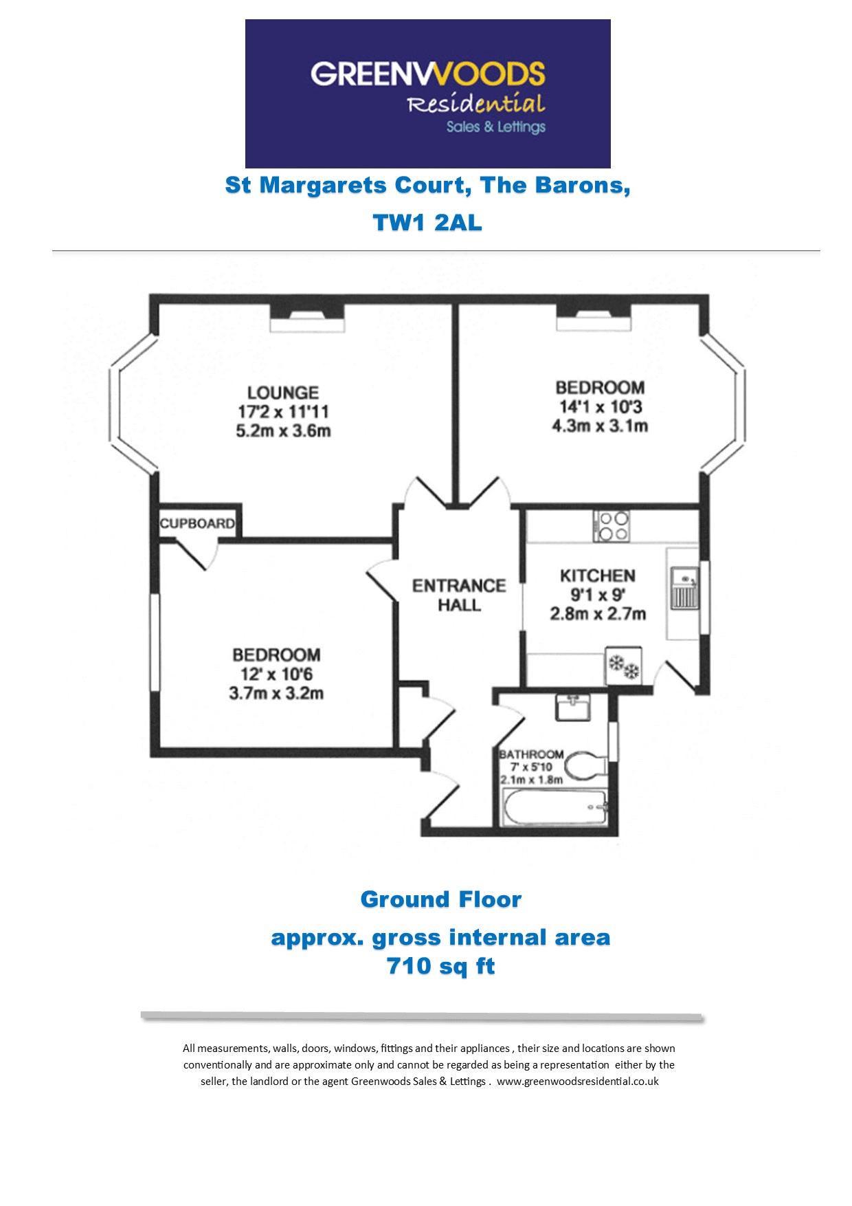 2d Floor Plan St Margarets Court