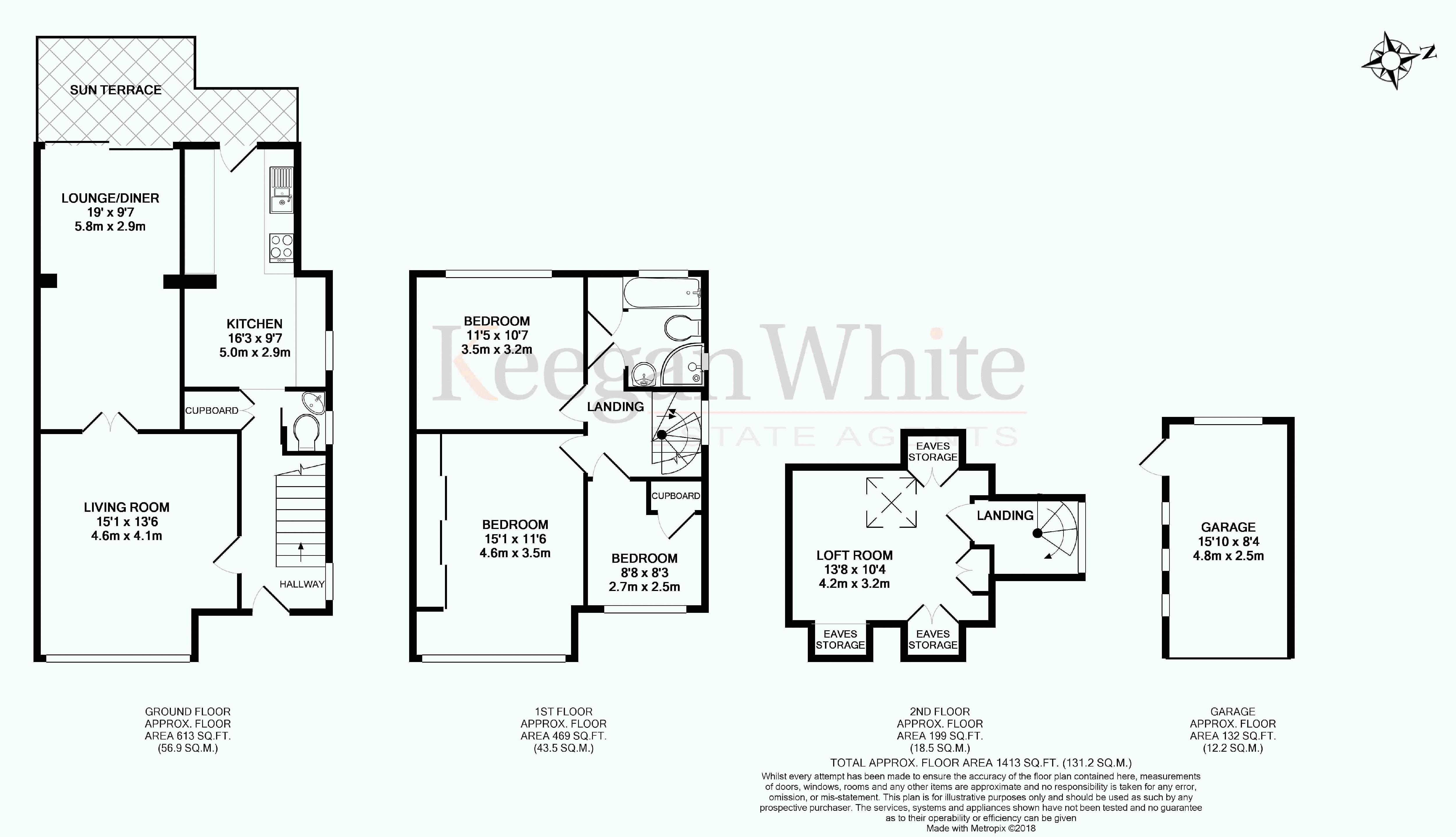 Keegan White Estate Agents High Wycombe - Floorpla