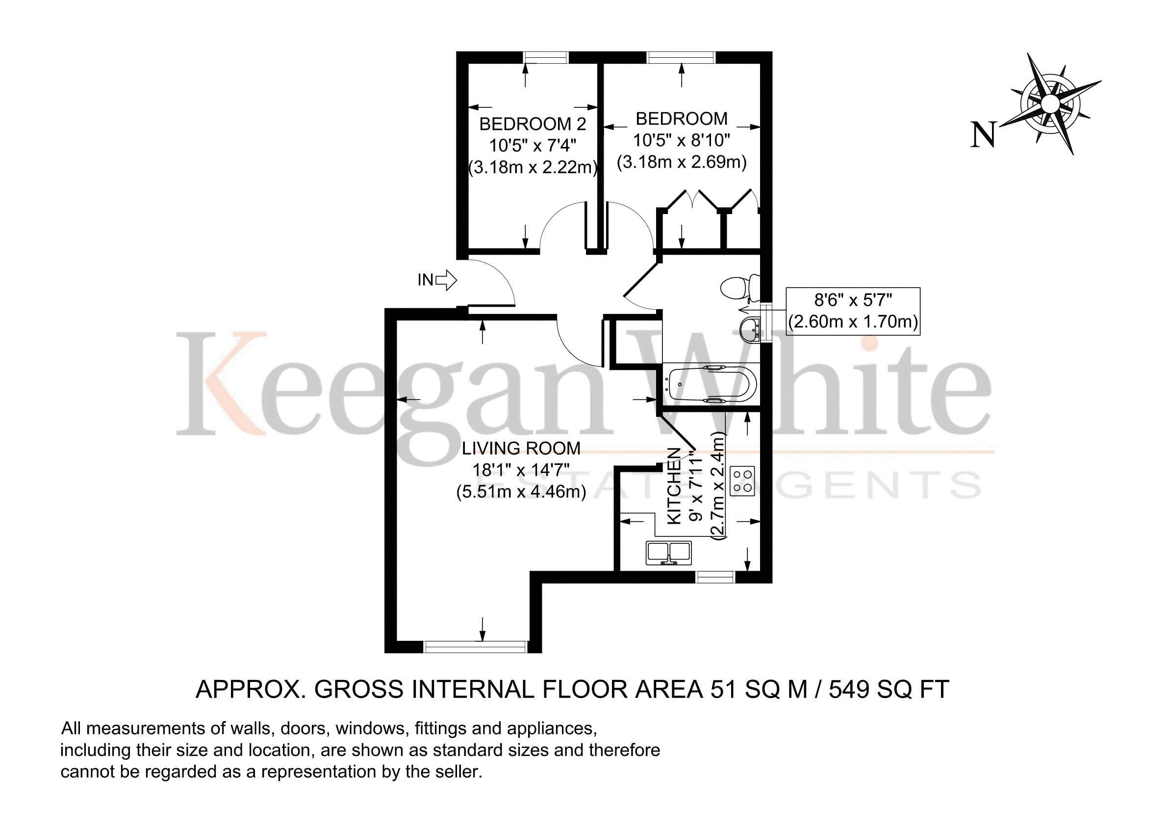 Keegan White Estate agent High Wycombe - Floorplan