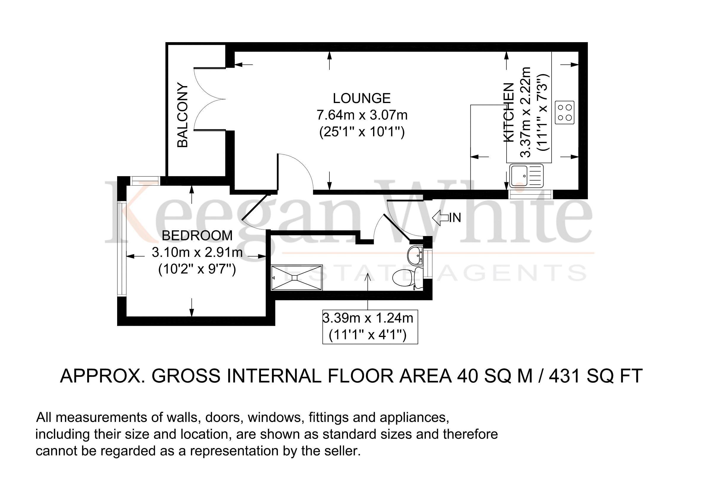 Keegan White - Plot 4 Pinions Road - Floorplan