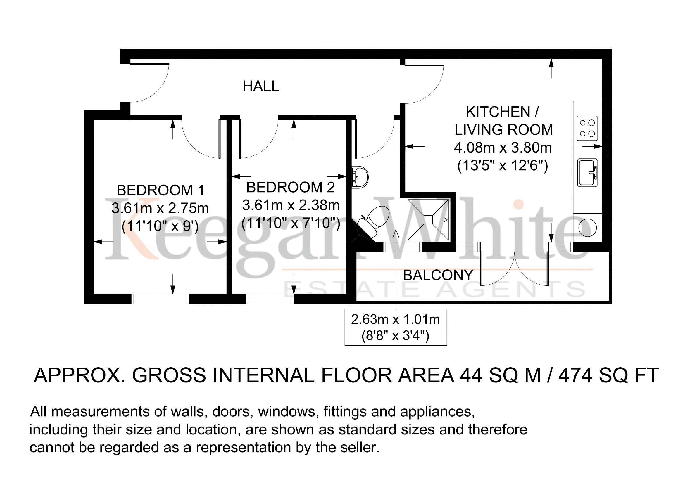 Keegan White - Floorplan - 8 Claremont Court