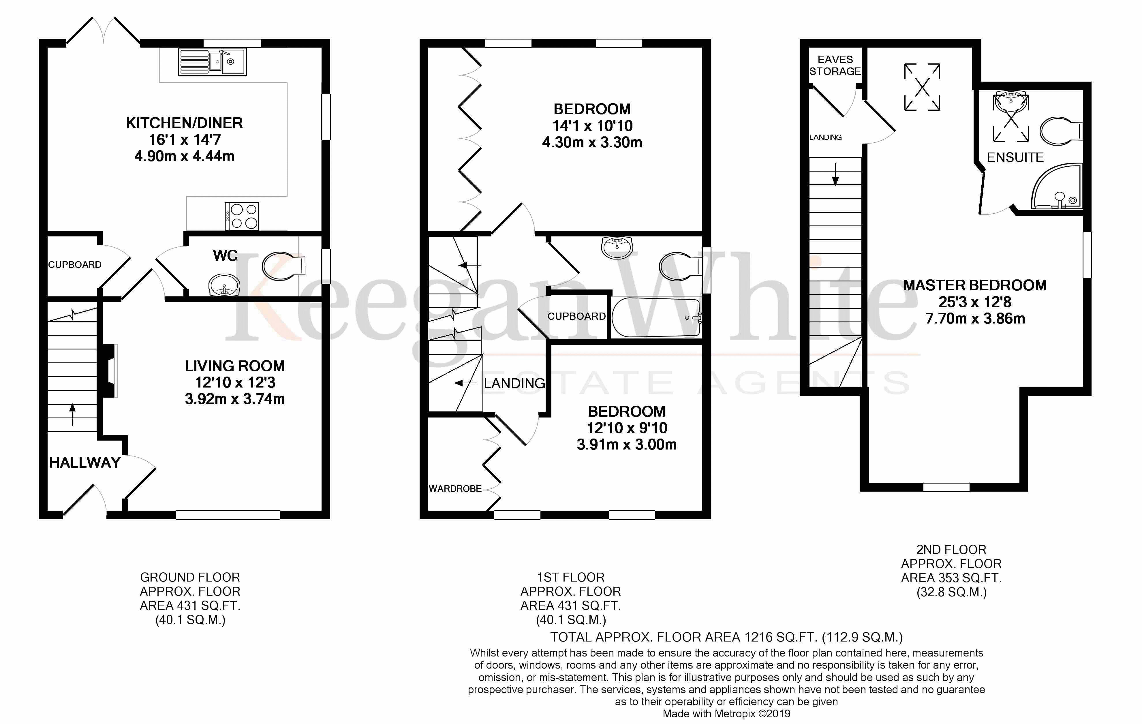 Keegan White Estate Agent in High Wycombe - Floorp