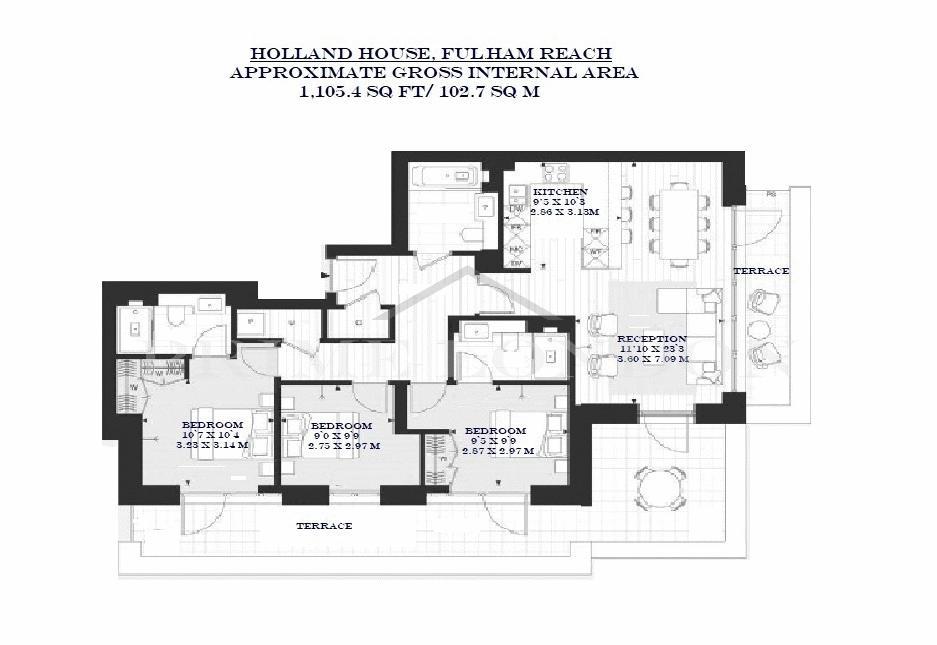 Holland House Fulham Reach