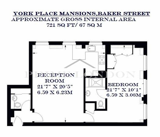 York Place Mansions 117 Baker Street