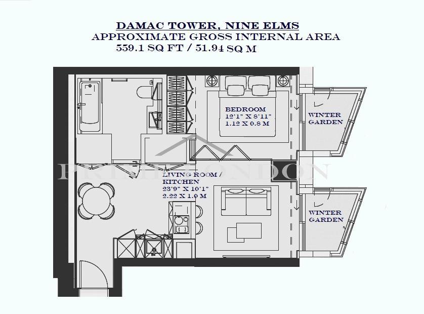 Damac Tower North Tower