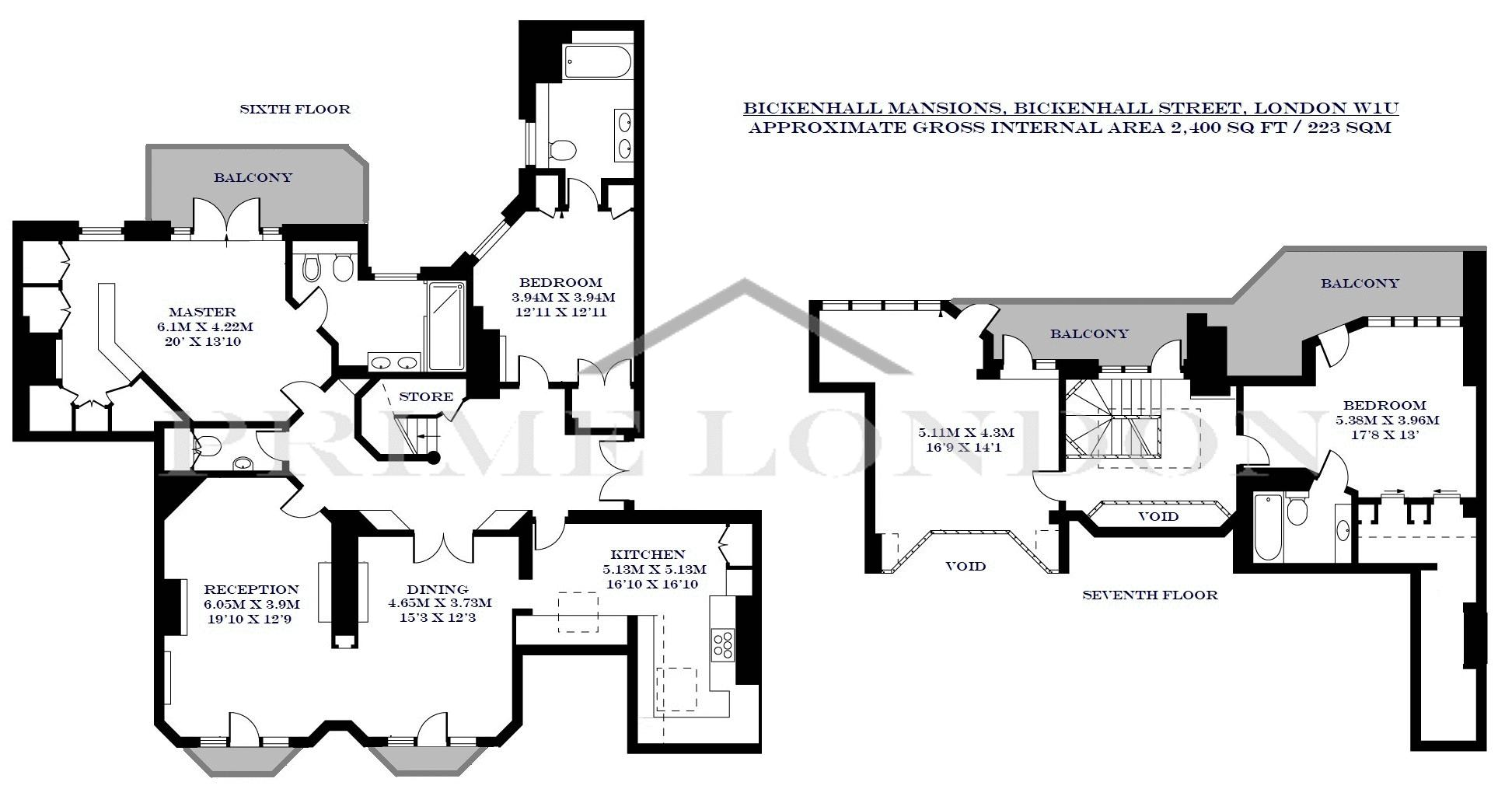 Bickenhall Mansions Bickenhall Street