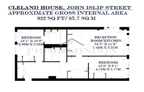 Cleland House John Islip Street