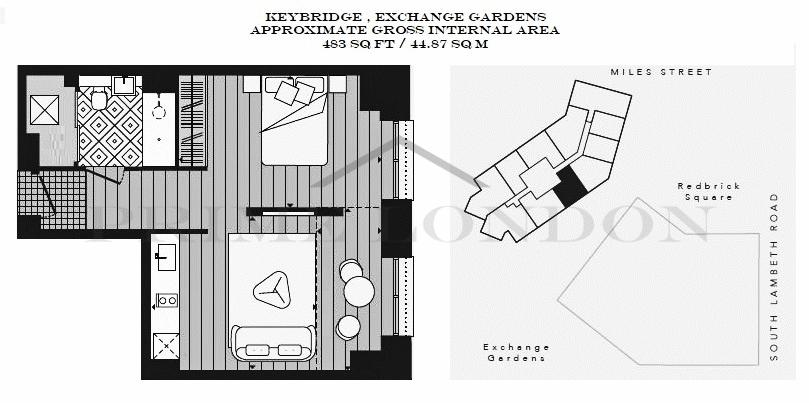 Keybridge Tower 1 Exchange Gardens
