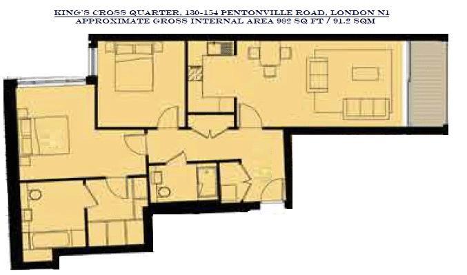 Kings Cross Quarter 130-154 Pentonville Road