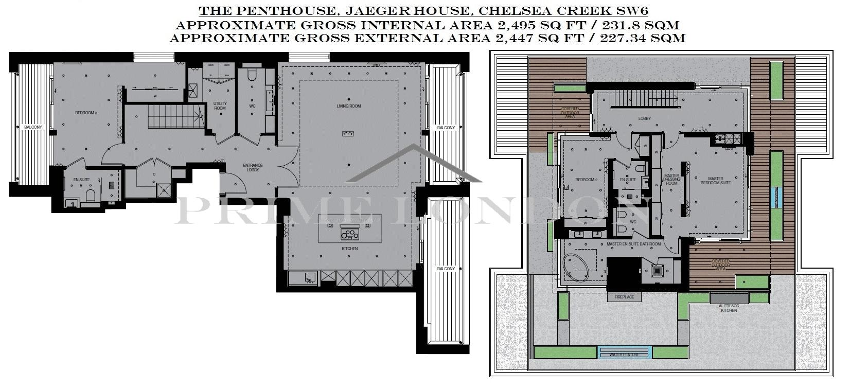 The Penthouse Jaeger House