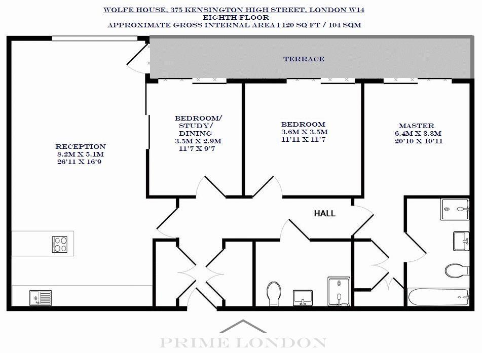 Wolfe House 375 Kensington High Street