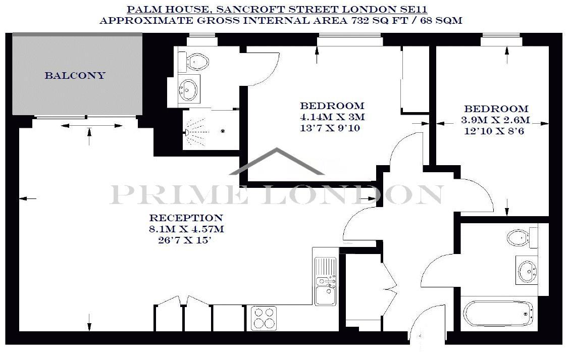 Palm House 70 Sancroft Street
