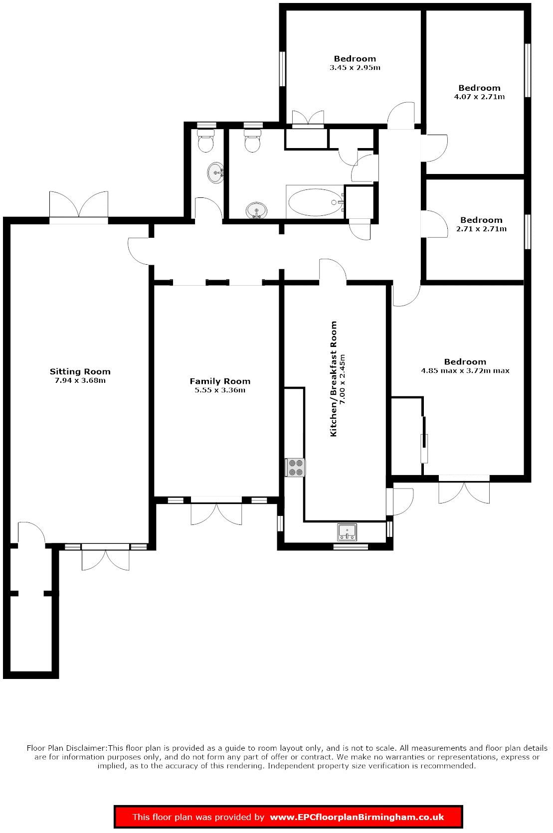The Thornes - Floorplan