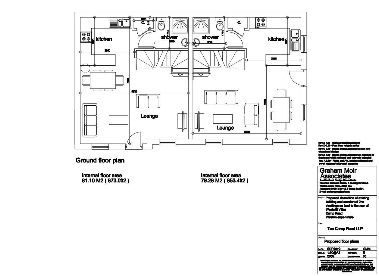 Proposed Floor Plan - Ground Floor