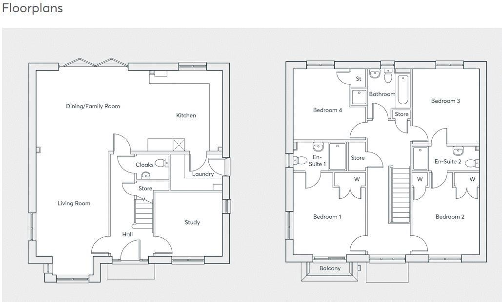 20 Mannock Gardens Floorplans