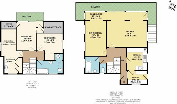 2D Floorplan (colour)