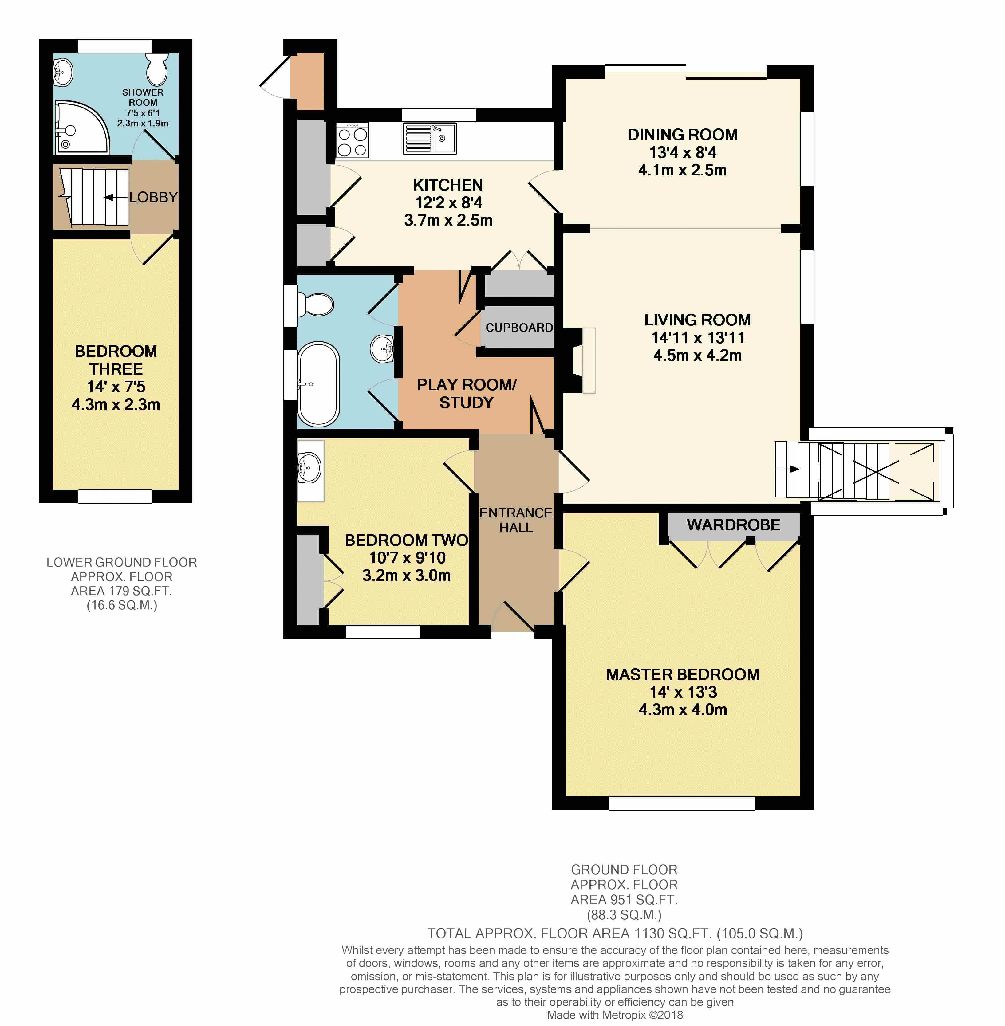 2D Floorplan Colour