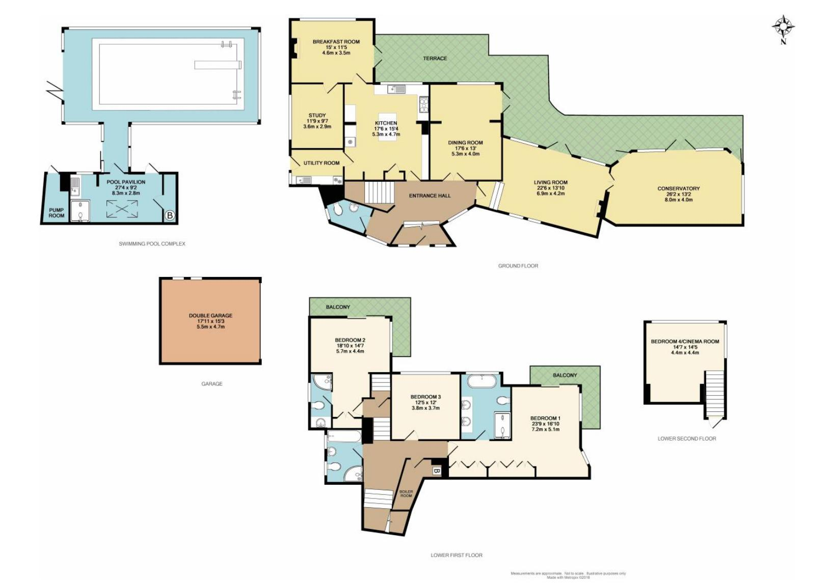 2D Floorplan Colour