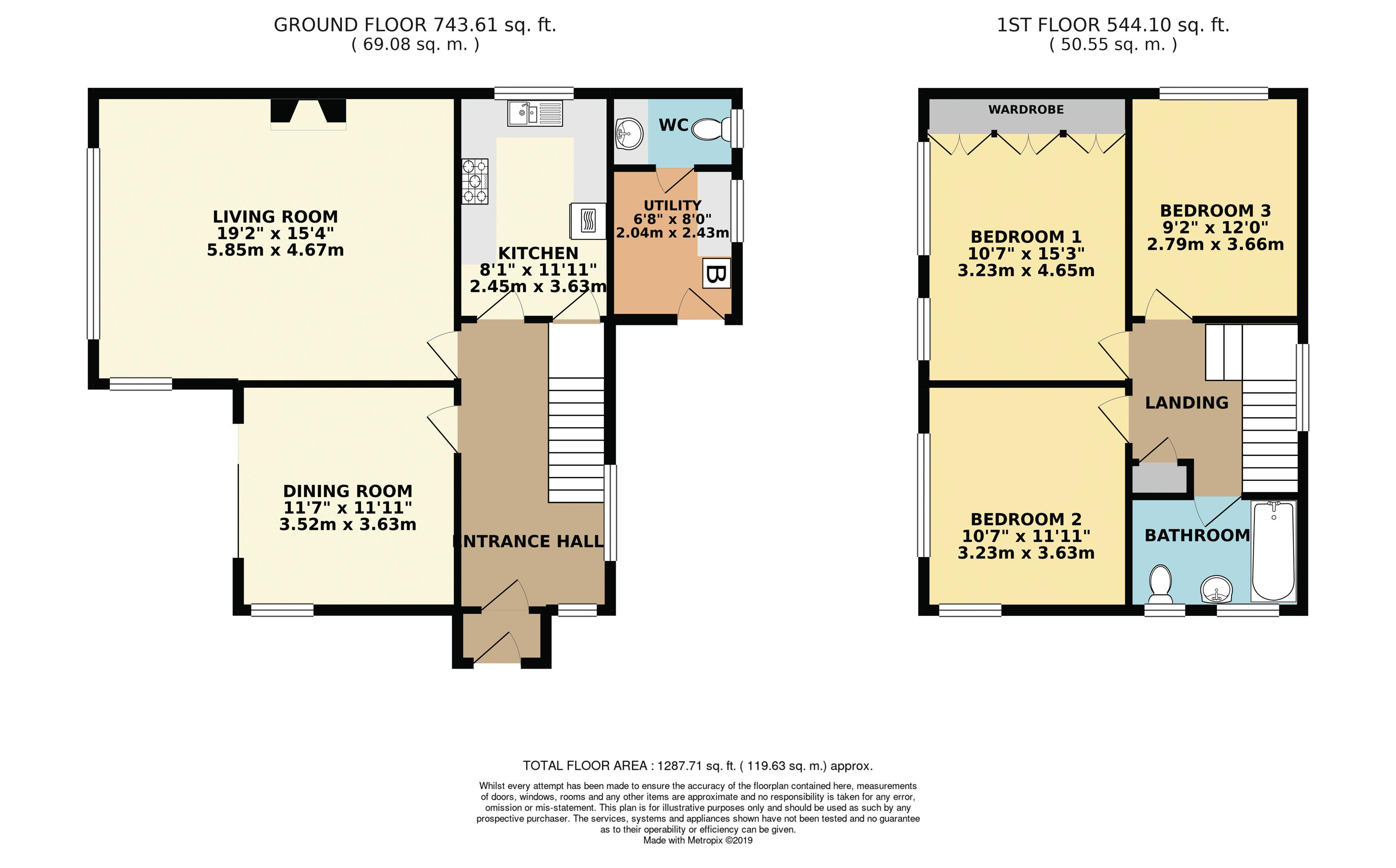 Floorplan Colour