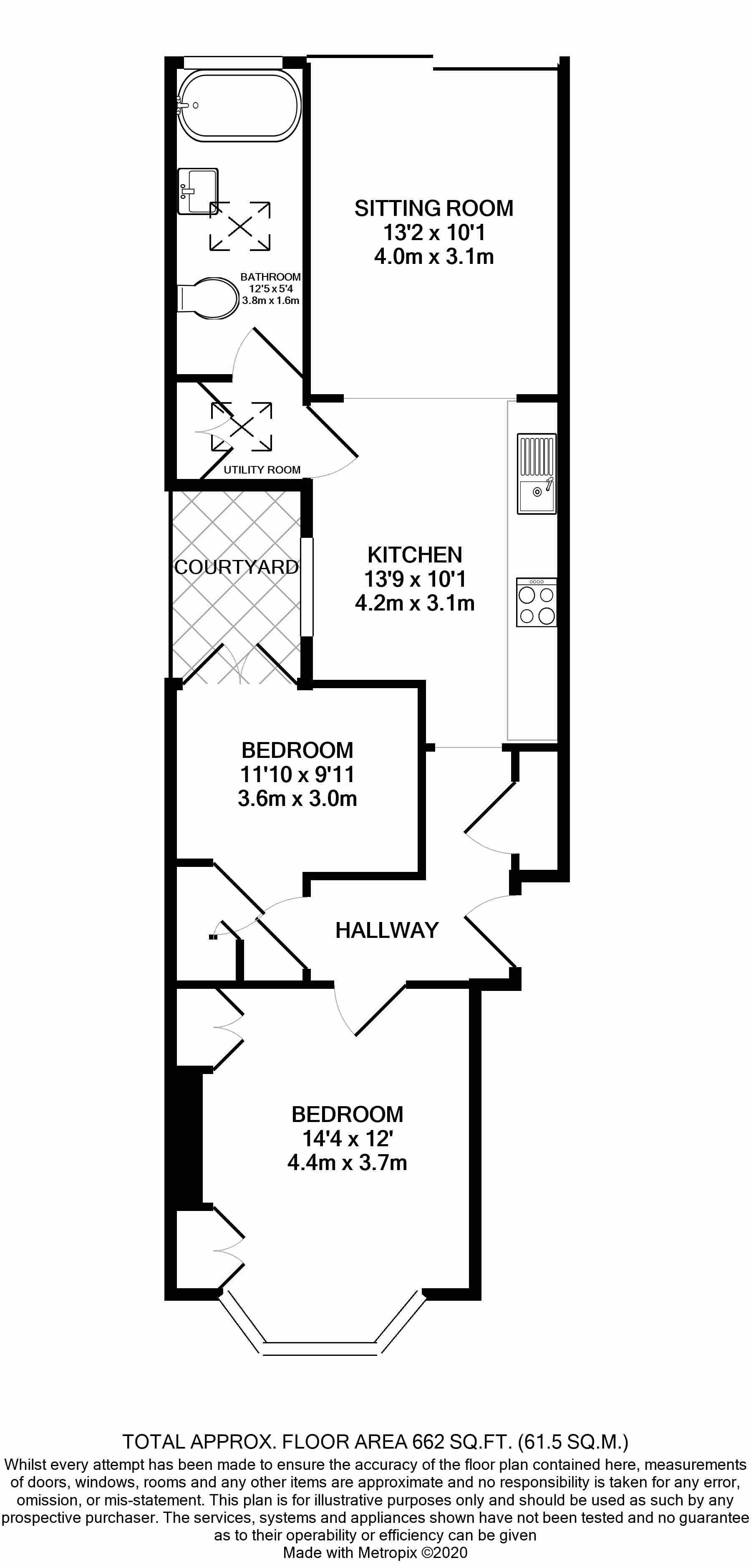 13 Haldon Rd Floorplan