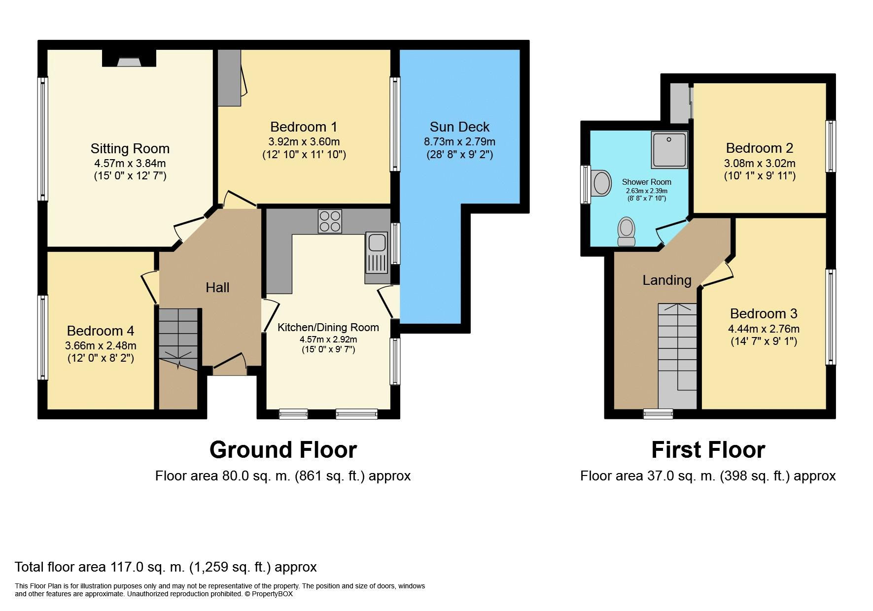 61 Scott Drive Floorplan