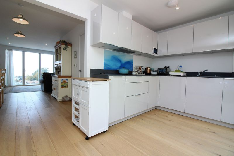 Kitchen Through to Dining & Living Room