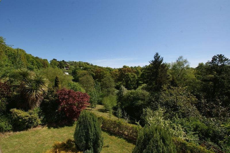 View overlooking garden