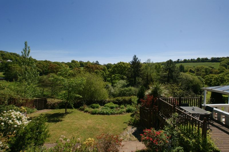 View from upper decking