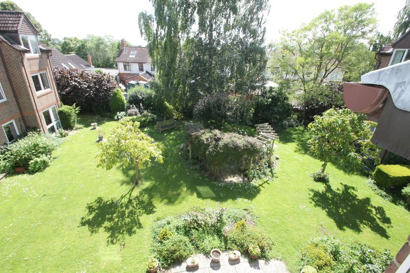 Garden view from the sitting room