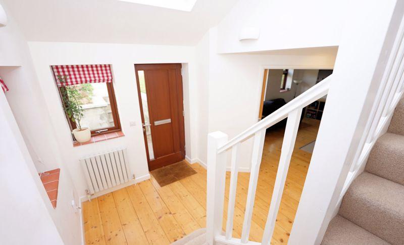 Galleried stairwell