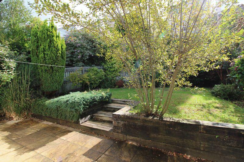 Established enclosed garden