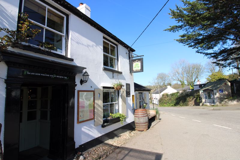 The Royal Oak in the heart of the village